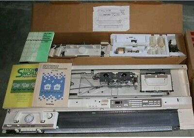 Brother knitting machine electronic KH 940 with KR 850 ribber package