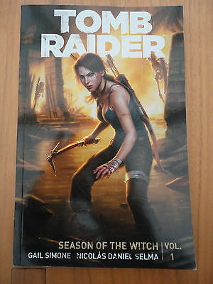 Tomb Raider Volume 1: Season Of The Witch by Gail Simone BOOK (Paperback)