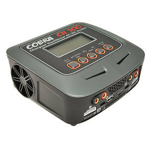 Chargeur D100 Ac/dc 2 Sorties