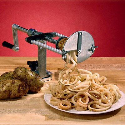 NEW Commercial Restaurant Heavy Duty Spiral Curly French Fry Cutter 55050AN