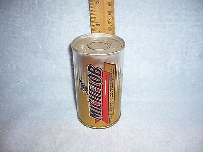 vintage michelob miniature beer can unopened with golf balls inside
