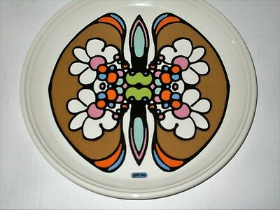 """Peter Max Iroquois China-Butterfly Plate-10"""" Dia. -Collectible- Great Condition"""