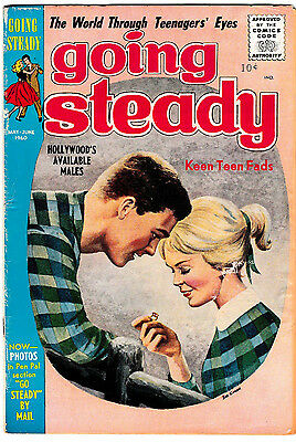 GOING STEADY Vol.3 #5 (VG/FN) Silver-Age Romance Comic 1960 Prize