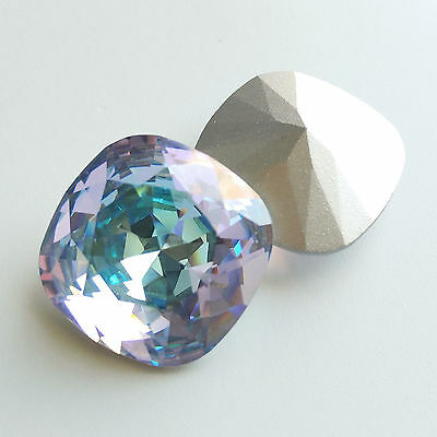 1 Rare Vintage Swarovski 4470 23mm Vitrail Light SF Cushion Cut Crystal Stone
