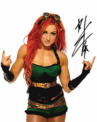 Becky Lynch #1 (Wwe) - 10X8 Pre Printed Lab Quality Photo (Signed) (Reprint)