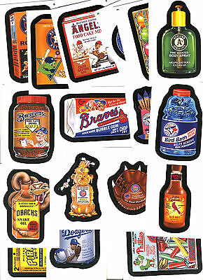 Wacky Packages MLB (2016) COMPLETE 90 CARD SET BRAND NEW MINT BASIC BORDERS