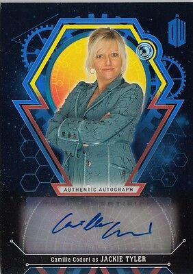 Doctor Who Extraterrestrial Encounters - Camille Coduri (Jackie) Autograph 01/25