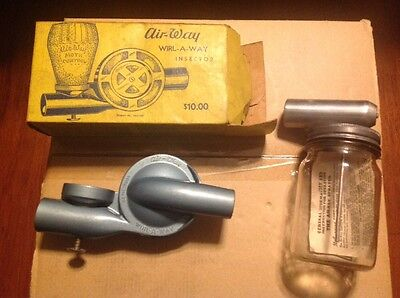 2 VINTAGE AIR-WAY sprayers 1 WIRL-A-WAY INSECTOR