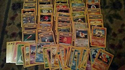 Pokemon Cards  Complete Base Set 69/102  Full Common Uncommon Pack Fresh - 1 car