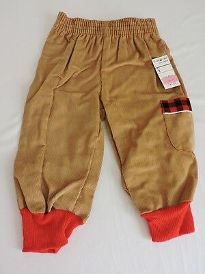Vintage 1980s JCPenney Clothing Corduroy Pants NWT Baby Infant Boy Sz 1 12M Fall