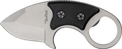 """Benchmark BMK041 Knives Fixed Knife Stubby 4 3/4"""" Overall 2"""" Wide Design Blad"""