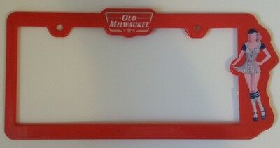 Old Milwaukee Beer Licence Plate Frame