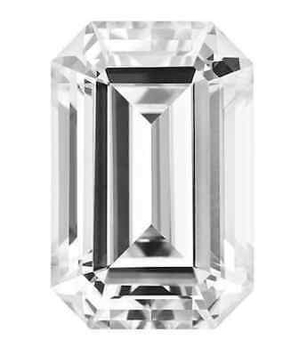 Forever Brilliant Moissanite 10.5X6.5 Emerald Cut From Charles and Colvard