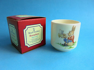 Vintage Royal Doulton Bunnykins Egg Cup Like New England Original Box
