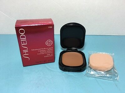 Shiseido - Advanced Hydro Liquid Compact (Refill) - I 100 - Very Deep Ivory- New