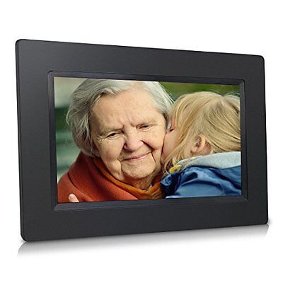 Sungale 7 Inch WiFi Cloud Digital Photo Frame with Touch Panel Free Cloud Sto...