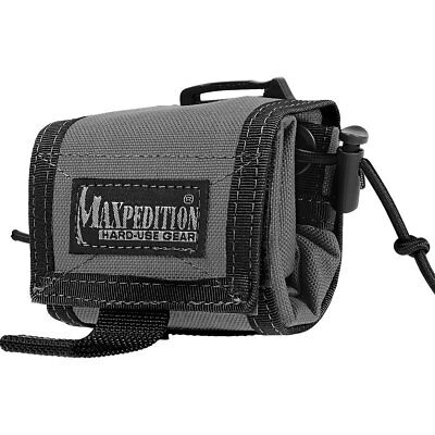 Maxpedition 0208W ROLLYPOLY Folding Dump Pouch 100 Cubic Inch Volume Wolf Gray