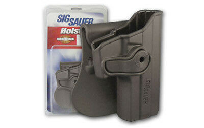 SIG Sauer Retention P229 Paddle Holster 40 Right BLK Polymer HOL-RPR-229R-43-BLK
