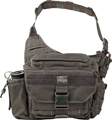 "Maxpedition MX439B Mongo Versipack Black Size Overall 16.5"" x 11.5"" x 7.5"""