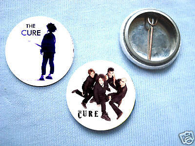 The Cure- Set Of Two Badges The Smiths Morrissey