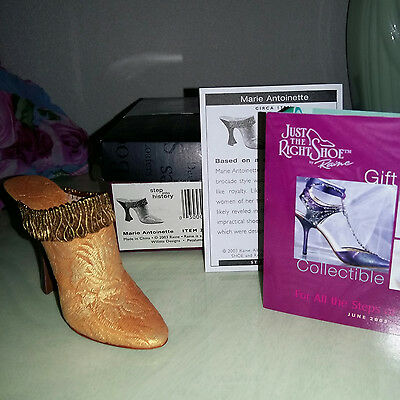 Just The Right Shoe - 2003 - Marie Antoinette - 25391 - Step into History - OVP