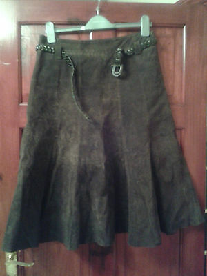 Suede Skirt 10