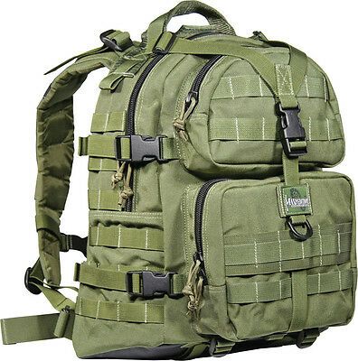 "Maxpedition MX512G Condor II Hydration Backpack OD Green Overall 13"" x 16"" x 9"""
