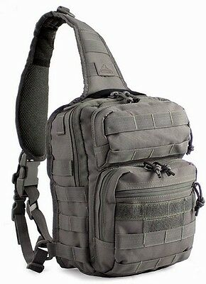 Red Rock Outdoor Gear RED80129TOR Rover Sling Pack Ambidextrous Tornado Gray
