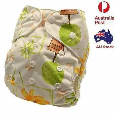 Modern Cloth Nappies Diaper Washable Reusable & Size Adjustable One Liner (D136)