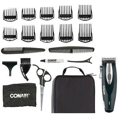 Conair HC1100R Li-Ion Haircut 20-Piece Kit w/Deluxe Storage Case
