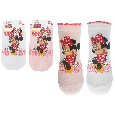 chaussettes blanches Minnie Neuves taille 31 - 34