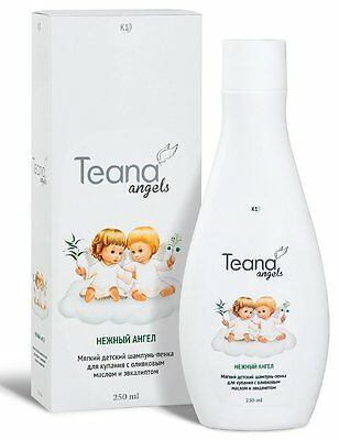 Gentle Angel Baby Shampoo & Bodywash with Olive oil and Eucalyptus - 250 ml - -