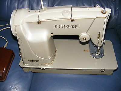 Singer 328K Sewing Machine from the 1960's All oiled up Smooth running VGC