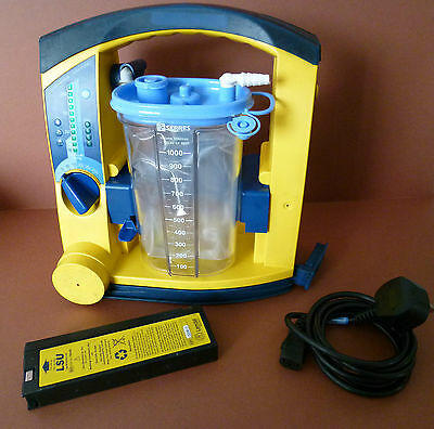 Laerdal LSU Suction New Serres Unit Emergency Paramedic Veterinary Suction Pump