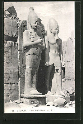 formidable CPA Karnak, The New Statues