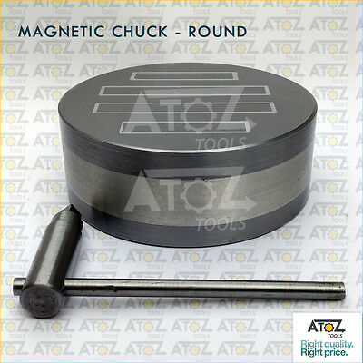 """RMC-6.5 ATOZ 6 1/2"""" 165mm Permanent Round Magnetic Chuck High Power OEM"""