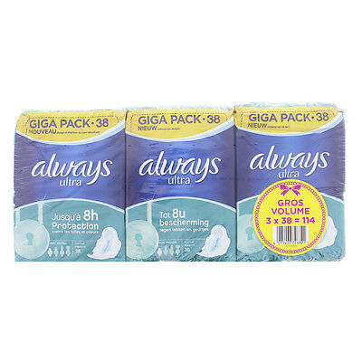 Always ultra X38 normal lot de 3X38