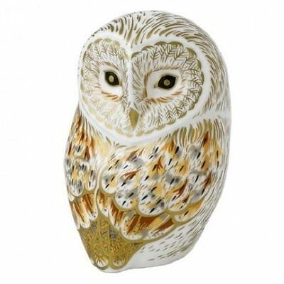 New Royal Crown Derby 1st Quality Winter Owl Paperweight ** SPECIAL OFFER **