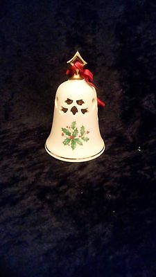Lenox Holiday pierced Christmas Bell
