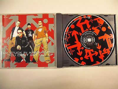 U2 - Stuck In A Moment You Can't Get Out Of - PROMO USA - 1 CD