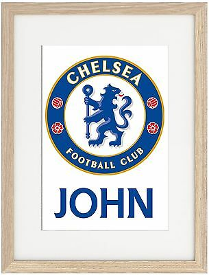 Chelsea A4 Poster Name Personalised  Premier League Conte Terry Hazard
