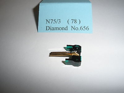 Replacement Diamond Stylus for Shure N75/3 (78rpm)
