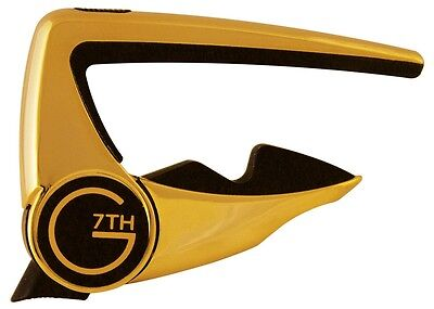 G7th Performance 2 Capo  - 18ct Gold Plated Guitar Capo