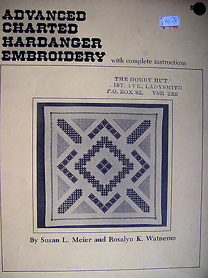 Advanced Charted Hardanger Embroidey with Complete Instructions
