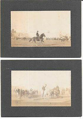 Lot of 2 Antique 1904 St. Louis World's Fair Photos of Anglo-Boer Show??