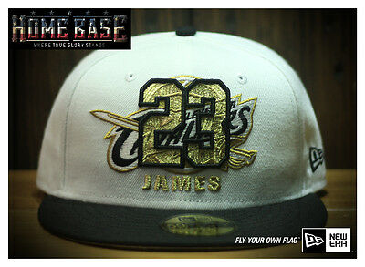 Limited Edition New Era 59FIFTY NBA Cleveland Cavaliers Lebron James Gold No.23