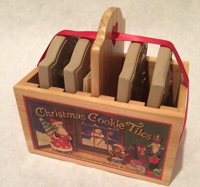 BROWN BAG COOKIE ART CHRISTMAS COOKIE TILES 1999 Hill Design Inc.