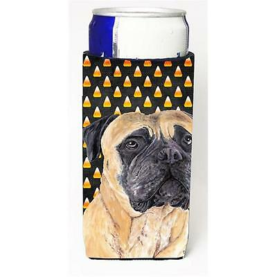 Mastiff Candy Corn Halloween Portrait Michelob Ultra s For Slim Cans 12 oz.
