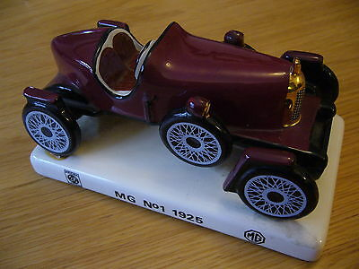 Mg Old Number 1 1925 Carlton Ware Bullnose Mg 1974 Bl Mg China Model On Plynth