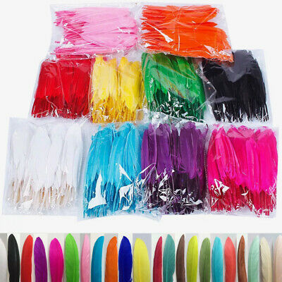 10/20pcs Beautiful Dyed Goose feather 20+ stunning colours 10-15cm 4-6 in #455